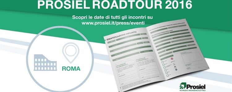 #prosielroadtour2016 || TAPPA A ROMA