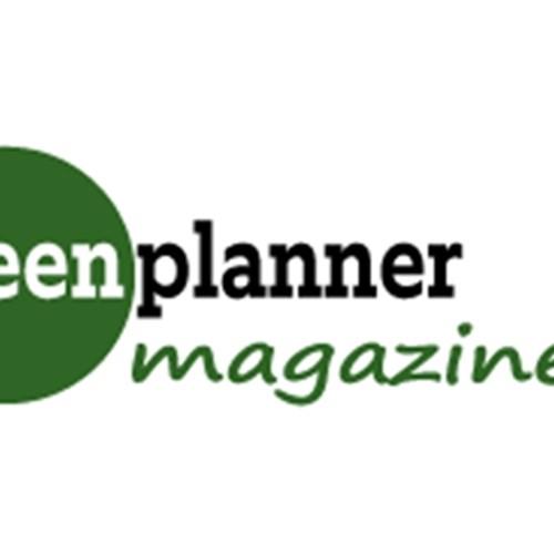 magazine green planner logo